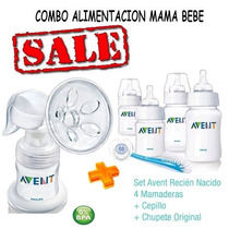 Avent Philips Sacaleche Manual+avent Set Recien Nacido