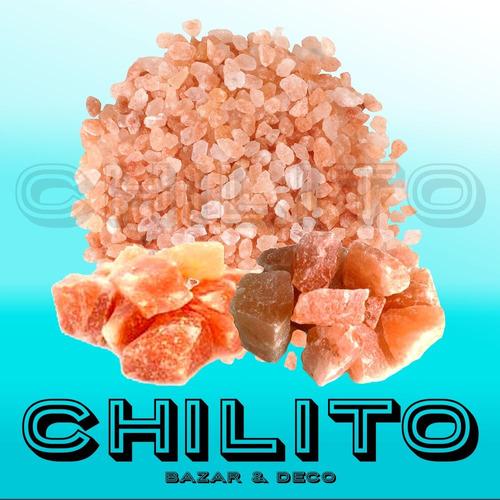 Sal rosada en piedra partida x 1 2 kilo lamparas de sal - Piedra de sal del himalaya ...