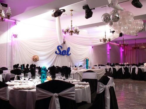 Salon De Fiesta Geiser Recepciones - Catering & Eventos