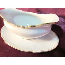 El Arcon Salsera Porcelana Bavaria Con Presentoire 13001