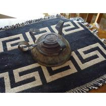 Antiguo Calentador A Alchool De Chapa En Su Estado Original