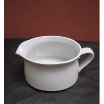 Salsera O Lechera Blanca Línea Premium - Porcelanas Tsuji