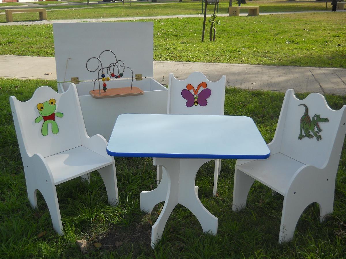 Mesita y sillitas para ni os imagui for Sillas para ninos