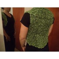 Bolero Tejido Al Crochet