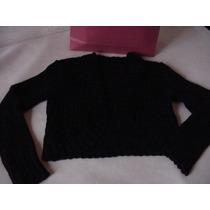 Saco Tipo Torerita Sweater Lana Pullover