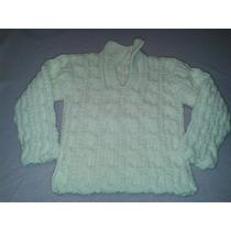 Sweters De Lana Uno Blanco Y Otro Negro. Pullover.