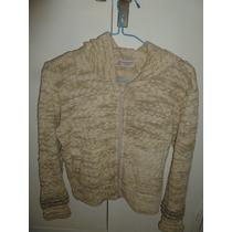 Sweater De Lana Genoa Con Capucha