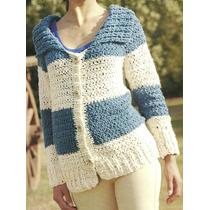 Tejidos Artesanales A Crochet: Saco Marinero!