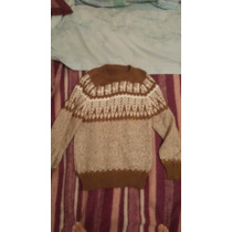 Pullover Salteños , Sweter De Salta Lana Alpana Llama Unisex
