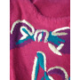 Sweater Chaleco Bordado Marca Express (usa) Talle M