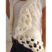 Chaleco Tejido A Crochet ¿ Producto Artesanal ¿ Talle ¿s¿