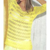 Tejidos Artesanales A Crochet: Remera Escote En La Espalda!