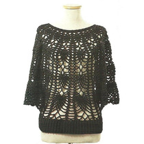 Tejidos Artesanales A Crochet: Poncho Calado!