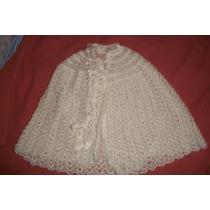 Mañanita Tejida Al Crochet