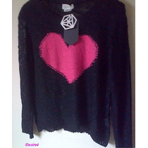 Sweter Pullover Importado Media Estacion!