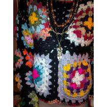 Sweter Divino Hecho A Mano- Tejido- Diseño