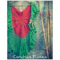 Liquidacion! Chaleco De Hilo Crochet