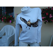 Lote De Polera + Un Sweater Marca Paula Cahen D`anvers!!!