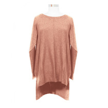 Sweater Hilo Lana Viscosa Mujer Blaque
