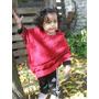 Ponchos Para Nenas Tejido Artesanal