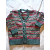 Sweater Lana Tipo Cardigan Marca Gimos Talle 4 Varon Niño
