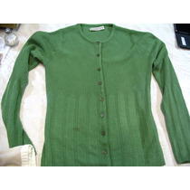 Saco Abierto Saquito Verde Seco Sweater Bremer Sandra Levi