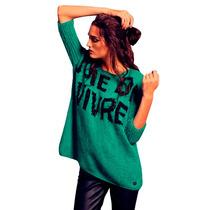 Clippate Sweater Pullover Tejido Lana Suave Envío Gratis