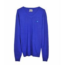Sweater Pullover Buzo Brooksfield Hombre Algodon Cashmere