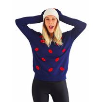 Sweater Importado Pullover Mujer Buzo Abrigo Besito Sweaters