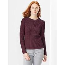 Sweater Pullover Tejido Uva Levi