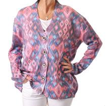 Sweater De Mujer, Saco, Sublimado, D-0012