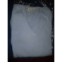 Sweater O Pulover De Bremer Color Celeste Nuevo Talle L