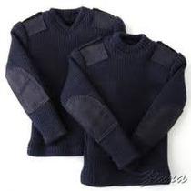 Tricota Pullover Negro Seguridad -vigilancia-sweater