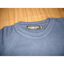 Sweters Pulovers Kevingston New England Azul Petroleo Talle