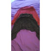 2x1 Sweater Poncho Saco Abrigo Capa Tejido Lana Abrigo T U