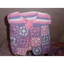 Chaleco Tejido A Crochet Para Nenas
