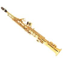Jupiter Jps 547gl Saxo Soprano Bb Llave De F# Dorado Estuche