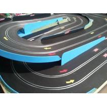 Pista De Slot + 2 Autos + 2 Pulsadores - Completa