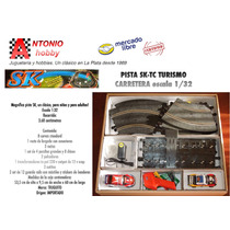 Pista Sk Con Autos Tc Transformador Eléctrica Ampliable
