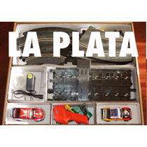 Pista Scalextric Sk Slot Tc 1/32 Ovalo Con Transformador