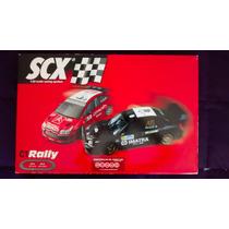 Pista Scalextric Original C1 Rally 2 Autos Como Nuevo