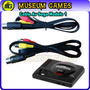 Cable Av Audio Y Video Para Sega Genesis 1 -local-
