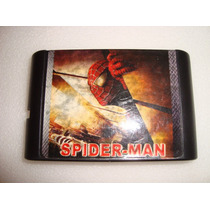 Cartucho Sega Spiderman -genesis-mega Drive