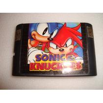 Cartucho Sega Sonic -genesis-mega Drive
