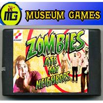 Zombies Ate My Neighbors Cartucho Para Sega 16 Bits-local-ca