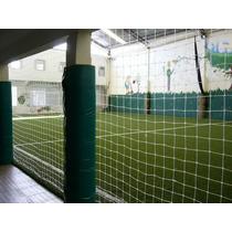 Red Contencion Proteccion Cancha Futbol 10 X 12 Hilo Blanco