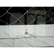 Kit Instalacion Red De Seguridad Transparente Monofilamento