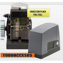 Kit Automatizacion Porton Corredizo 400kg Cremallera Acero