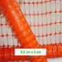 Malla Reticulada Pesada, Naranja Fluo 1 M X 40 Ms.