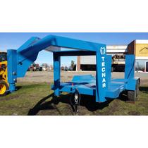 Trailer Carreton Tecnar Mod Cigueña 6000 P/ 6 Ton